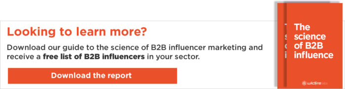Download your free B2B Influencer guide